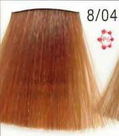 Стойкая крем-краска для волос WELLA 8/04 Koleston Светлый блондин натуральный красный 60 мл
