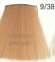 Стойкая крем-краска для волос WELLA 9/38 Koleston Яркий блондин золотой жемчуг 60 мл