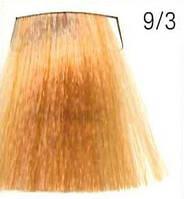 Стойкая крем-краска для волос WELLA 9/3 Koleston Яркий золотой блондин 60 мл