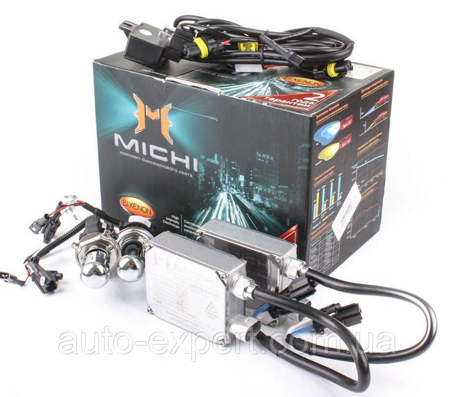 """Комплект биксенонового света """"Michi"""" (H4)(5000K)(12V)(35W)"""