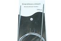 Спицы металлические круговые на тросе 100см:3.5