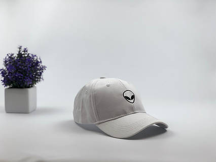Кепки бейсболки Alien белый, фото 2