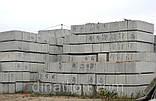 Бетонний блок фундаментний ФБС 24-5-6, суперціна, Київ, фото 3
