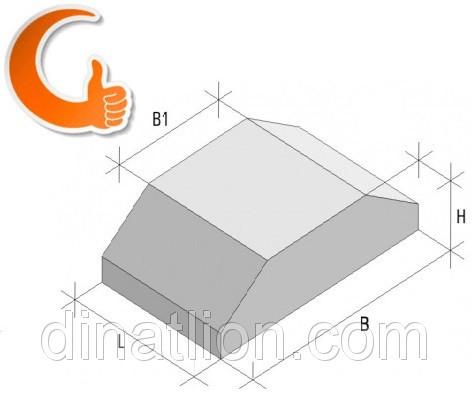 Стрічковий фундамент ФЛ 16.8-2