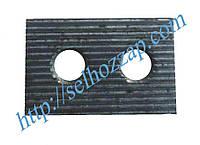 Пластина зубчатая рычага МКШ Дон 1500
