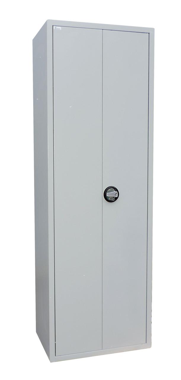 Офисный шкаф Ferocon ШСБ-12-02-06х18х04-Ц-7035,600х1800х400