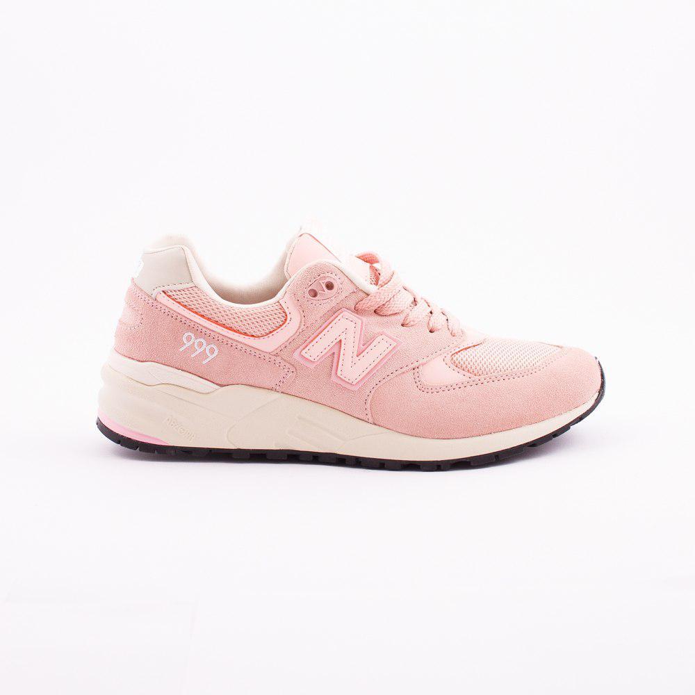 Жіночі кросівки New Balance 999 стильні популярні нові (персикові), ТОП-репліка