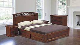 Ліжко Симфонія 160х200 з ящиками RoomerIN