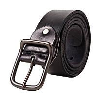 Кожаный ремень мужской Disiwei ZM черный eps-12004