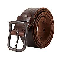 Кожаный ремень мужской Disiwei ZS коричневый eps-12002