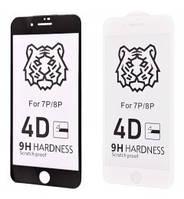 Стекло Glass FULL SCREEN 4D TIGER iPhone 7 Plus/8 Plus, 7/8