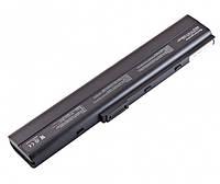 Аккумулятор Asus A40, A42, A52, A62, B53, F85, K42, K52, K62, A32-N82, A42-K52 (10,8V 5200mAh черная)