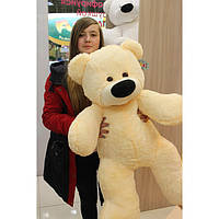 """Большой медведь сидячий """"Бублик"""" 140 см.(персиковый)"""