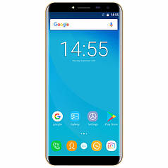 "☆Смартфон 5.5"" OUKITEL C8, 2/16GB Gold гнутое стекло 2.5D LTPS камера 8 Мп 3000 mAh Android 7 отпечаток пальца"