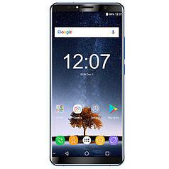 """☛Смартфон 6"""" Oukitel K6 6/64GB Blue Helio P23 камера 23 Мп автофокус 6300 mAh Android 7.0 гнутое стекло 2.5D"""