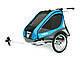Детская коляска-прицеп для велосипеда Thule Chariot Captain 2 (Blue), фото 3