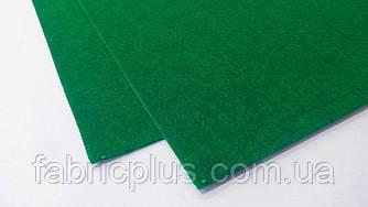 Фетр  для  рукоделия (1мм/ 30*20см), темно-зеленый насыщ.