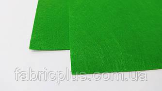 Фетр  для  рукоделия (1мм/ 30*20см), светло-зеленый