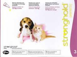 Стронгхолд капли д\щенков и котят весом до 2.5кг(цена за 1 пипетку)
