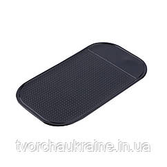 Липкий коврик для работы с бисером и стразами(черный)