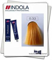 Индола краска 0.33 Indola Permanent Золотистый 60 мл