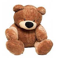 """Великий ведмідь сидячий """"Бублик"""" 140 див.(коричневий)"""