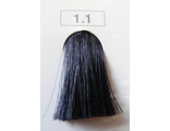 Индола краска 1.1 Indola Permanent Черний пепельный/интен. пепел. 60 мл