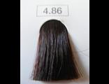 Крем-краска 4.86 Indola PCC Средне-коричневый шоколадно-жемчужный 60 мл