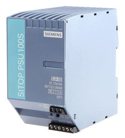 Стабилизированный блок питания Siemens SITOP PSU100S 12 V/14 A, 6EP1323-2BA00