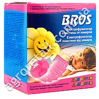 Электрофумигатор + пластины от комаров для детей Bros