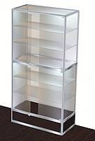 Торговая витрина в каркасе с алюминиевого профиля №2 2000х1000х500, фото 1