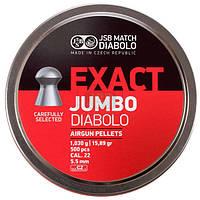 Пули пневматические JSB Exact Jumbo, 250 шт/уп, 1,03 г, 5,5 мм