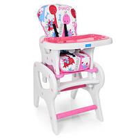 Детский стульчик для кормления Bambi M 0816-23 Pink