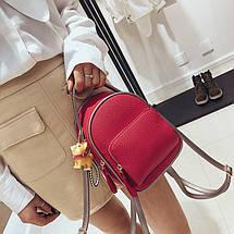 Рюкзак женский Ami Red красный eps-8229, фото 2