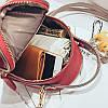 Рюкзак женский Ami Red красный eps-8229, фото 6