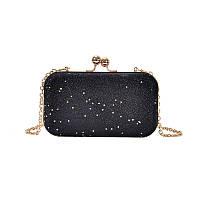 Вечерняя женская сумочка клатч Brady Black