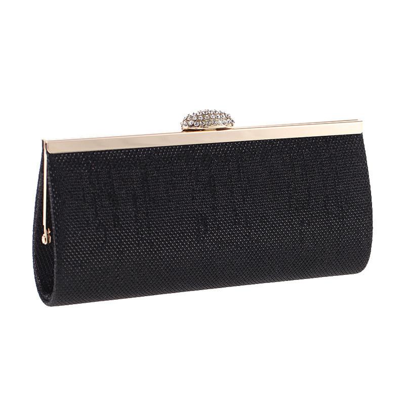 Вечерняя женская сумочка Bluebell Miss Black eps-6083