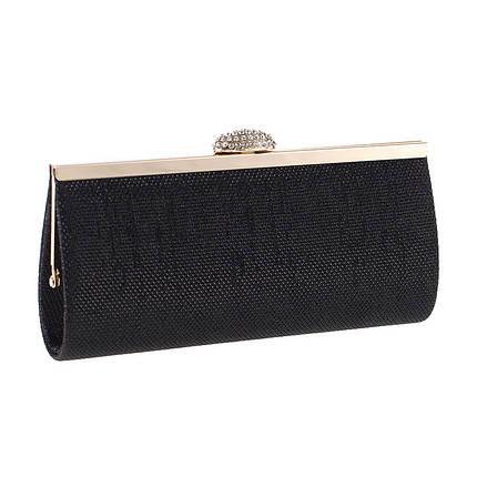 Вечерняя женская сумочка Bluebell Miss Black eps-6083, фото 2
