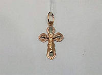 Золотой крестик. Распятие Христа. Артикул 529701, фото 1