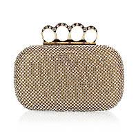 Вечерняя женская сумочка Bluebell Rings Gold eps-6086