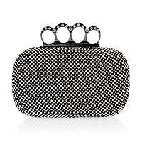 Вечерняя женская сумочка Bluebell Rings Black eps-6087