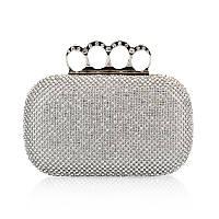 Вечерняя женская сумочка Bluebell Rings Silver eps-6088