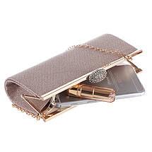 Вечерняя женская сумочка Bluebell Miss Gold eps-6084, фото 3