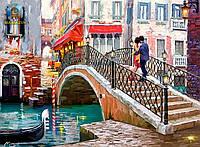 """Касторланд пазлы 2000 """"Мост, Венеция"""""""