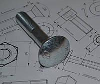 Болт М10 с полукруглой головкой ГОСТ 7802-81, фото 1
