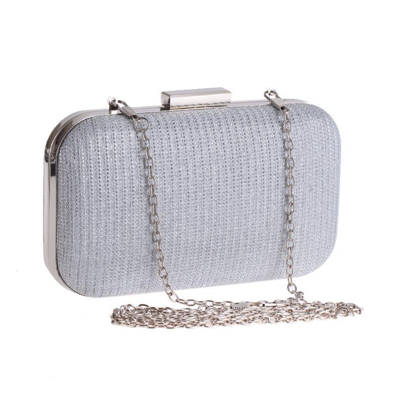 Вечерняя женская сумочка Bluebell Classical Silver eps-6091