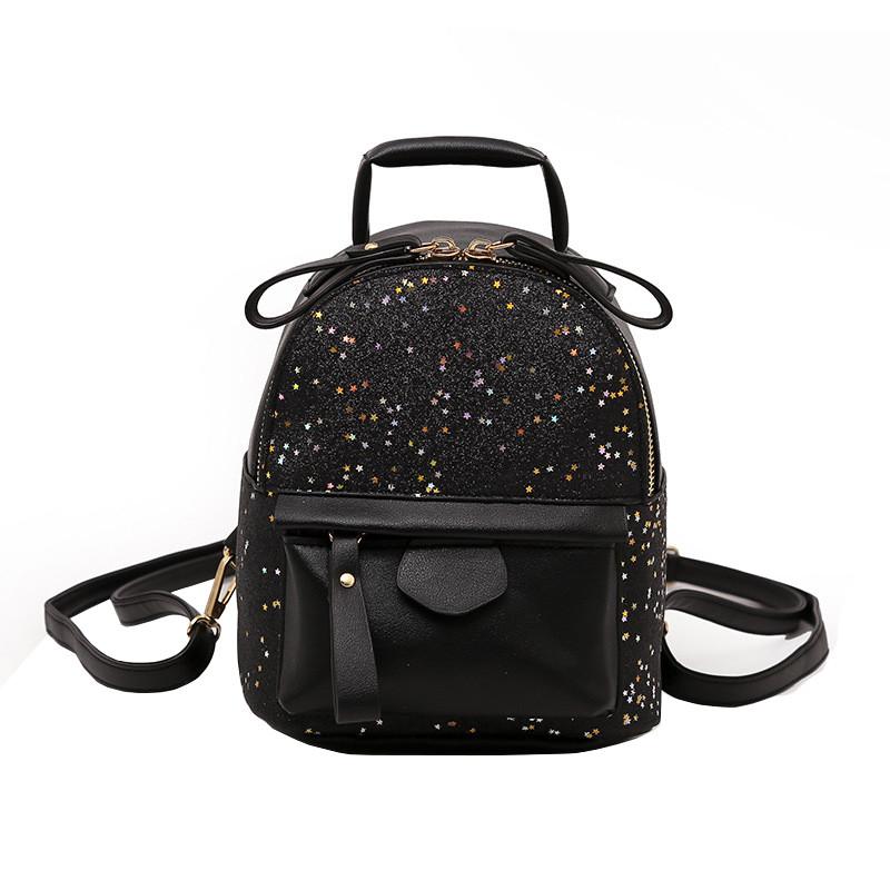 Рюкзак женский Star Black черный eps-8235