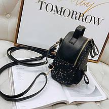Рюкзак женский Star Black черный eps-8235, фото 3