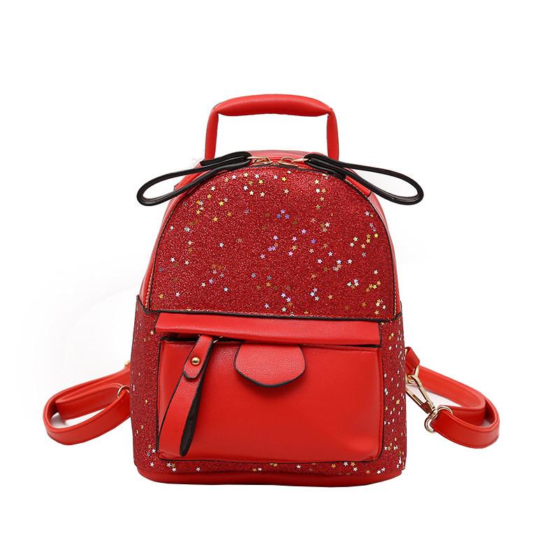 Рюкзак женский Star Red красный eps-8236