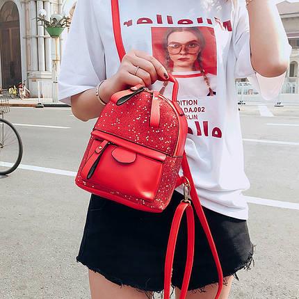 Рюкзак женский Star Red красный eps-8236, фото 2